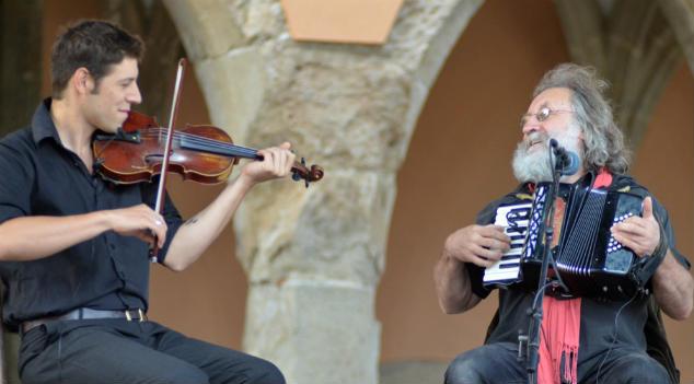 Miqueu és Baltazar Montararo a kaláka fesztiválon