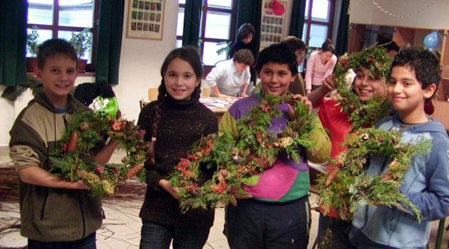 Játszóház a BNPI felsőtárkányi látogatóközpontjában - fotó: egri zöld blog