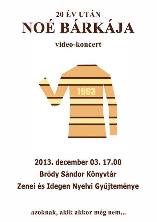Noé bárkája - koncertfilmvetítés