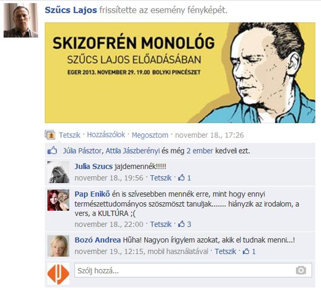 Szűcs Lajos - Skizofrán monológ